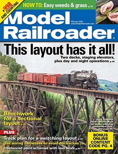 Model Railroader (Model Railroad compare prices)