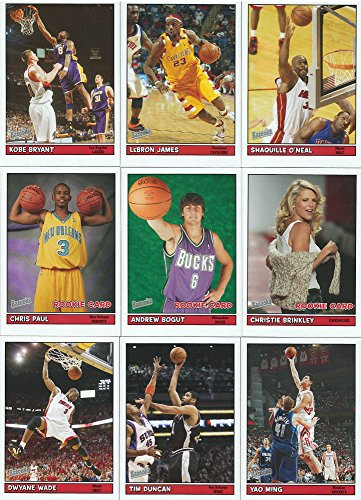 2005/06 Topps Bazooka Basketball Series Complete Mint 220 Card Set (Celebrity Card)