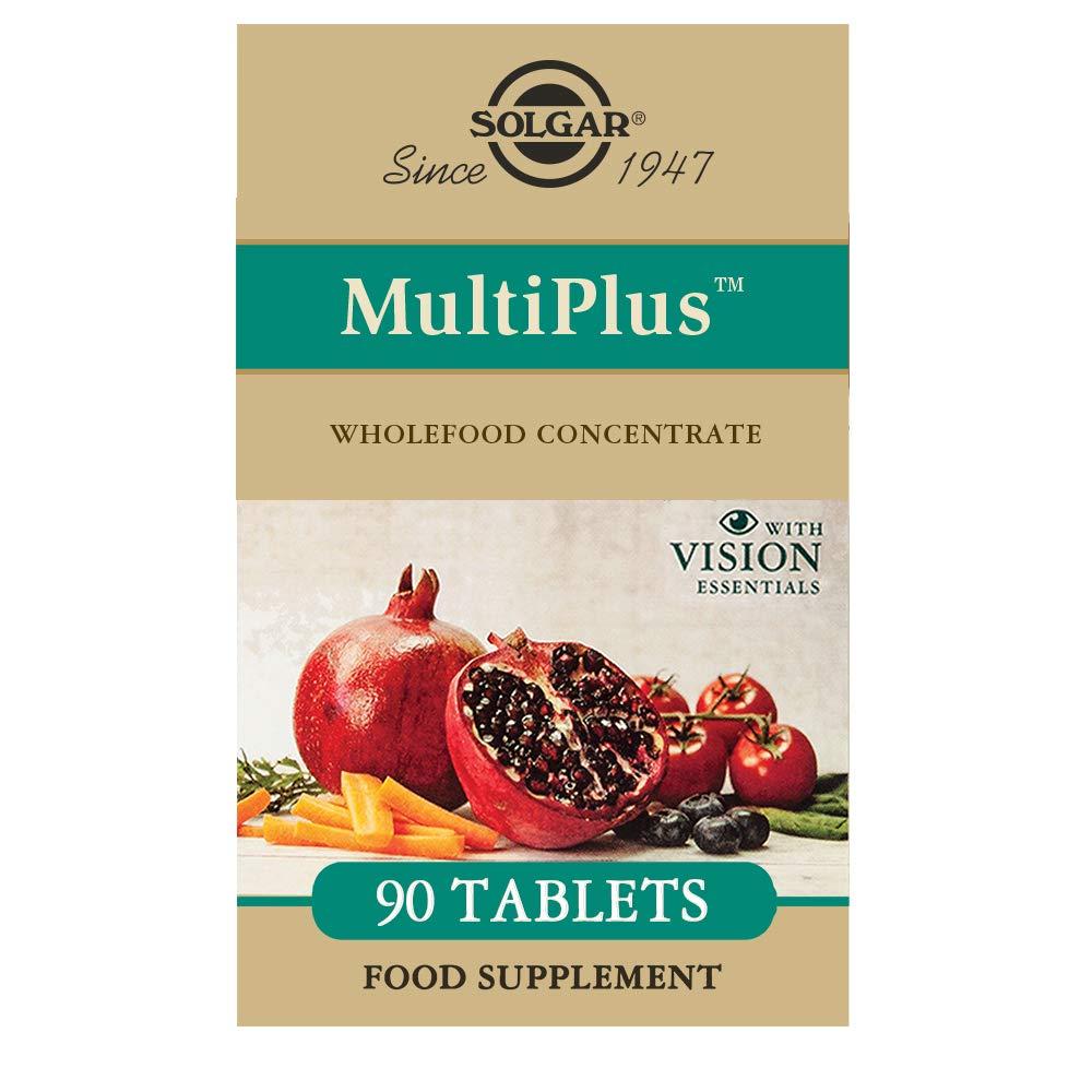 SOLGAR - MULTIPLUS VISION 90comp 1154791: Amazon.es: Salud y cuidado personal