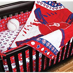 Philadelphia Phillies Micro Fiber Crib Bedding Set