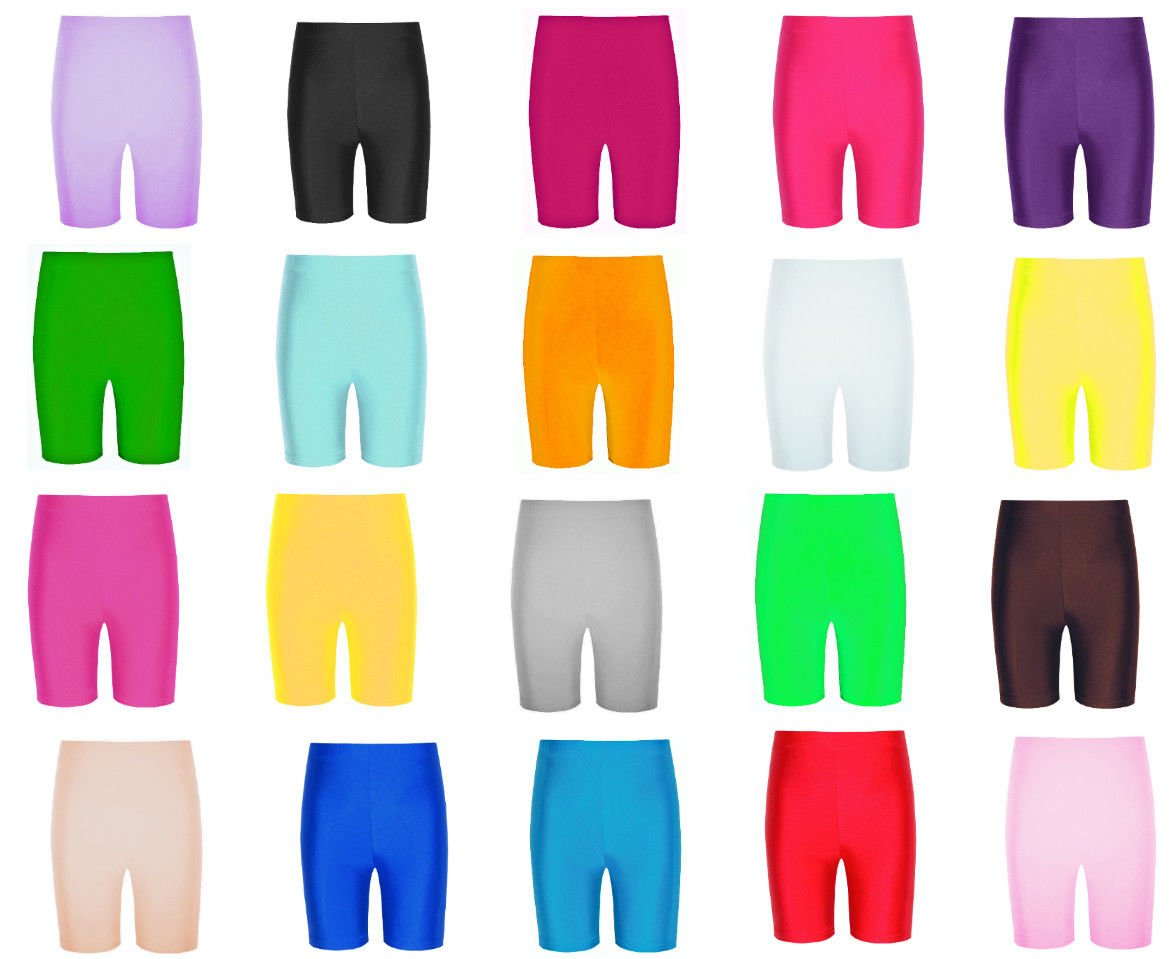 c14d53e1e Papaval Girls Boys Nylon Lycra Cycling Shorts Kids Children s School ...