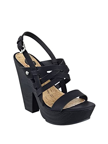 G By Guess Saint Women US 10 Black Sandals