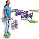 Geospace Jumparoo Deluxe LED Bungee Boing Foam Bouncing Toy - The Squeakiest, Easiest Pogo Ever! for Kids 3 Years & Up
