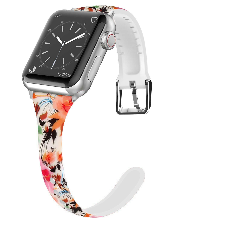 Malla Silicona para Apple Watch (38/40mm) LWSENGME [HRBFKNC]