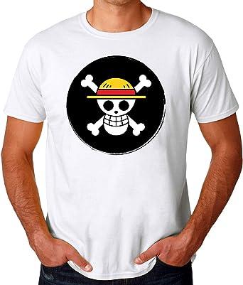 One Piece Pirates Logo Camiseta para Hombres: Amazon.es: Ropa y accesorios