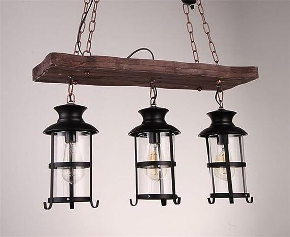 Vintage illuminazione industriale luci edison retro legno