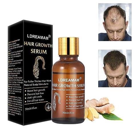 Serum pour faire pousser les cheveux