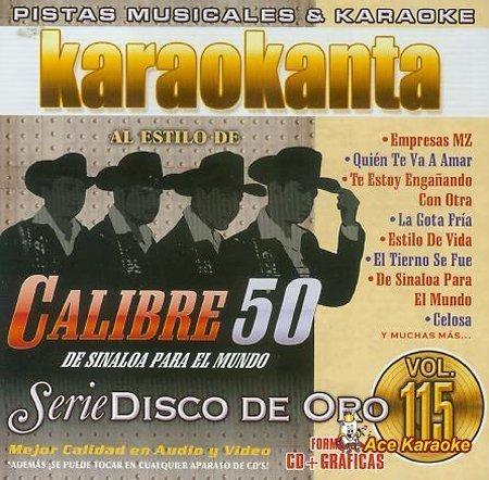 Karaokanta KAR-1815 - Disco de Oro - De Sinaloa para el mundo - Spanish CDG by Karaokanta