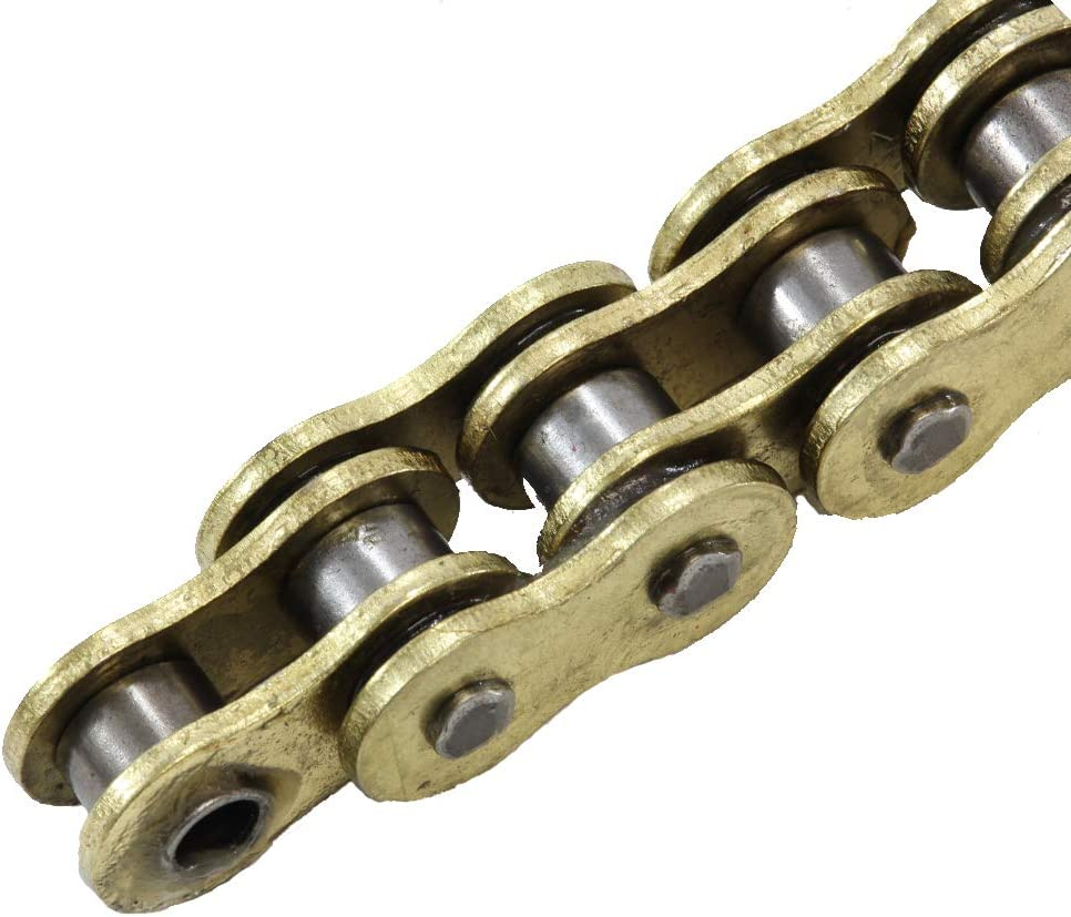 520 Pitch Gold O-Ring Chain 80 Links for 2000 Polaris 325 Trail Boss 2x4