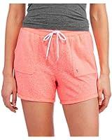 Danskin Now Women's Basic Knit Tweed Gym Shorts