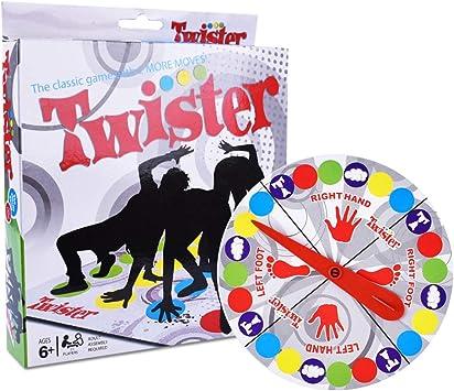IWILCS Twister Juego, tapete de Juego Infantil, Juego de Fiesta, Juegos de Habilidad para niños y Adultos, Manta de Juegos de Mesa: Amazon.es: Juguetes y juegos