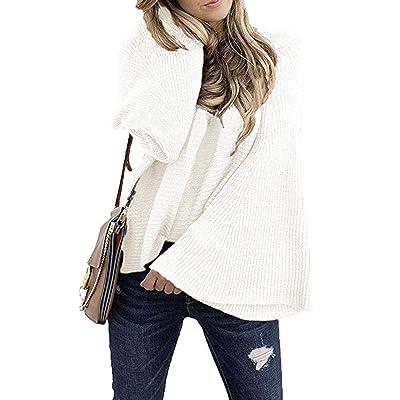 Hertsen suéter Casual Tipo Kimono con Mangas de murciélago para Mujer: Ropa y accesorios