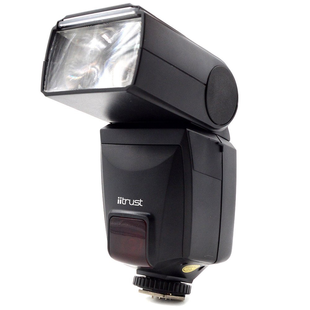 iitrust ストロボ/フラッシュ ハイスピードシンクロ機能付き スピードライト 光通信TTLワイヤレス機能付き 省エネルギーファンクション機能付き 日本語説明書付き DPT586AFZ ブラック Nikonに対応 itrust並行輸入品   B01H00F9BW