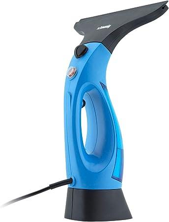 capacit/à 340ml H.Koenig WIZ400 Lavavetri a vapore Blu//Nero 1200W 20cm ampiezza spazzola