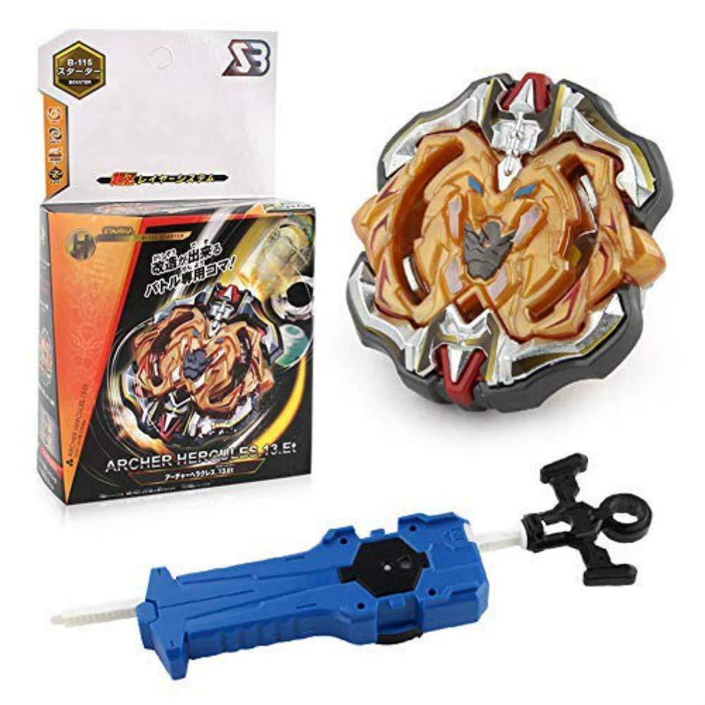 Kampfkreisel mit Launcher Kinder Jugendliche und Erwachsene Wywei 4D Fusion Modell Metall Masters Speed Kreisel