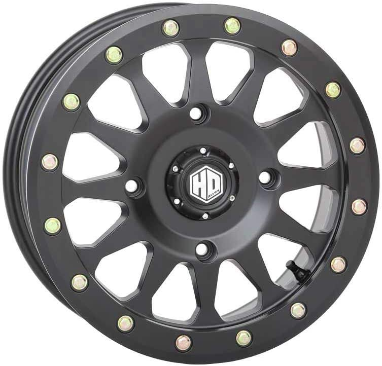 14X7 // 4X156 4+3 14-19 POLARIS RANRZR1000XE Sedona Split 6 Beadlock Wheel