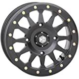 STI A1 Beadlock Wheel (Front / 15X7 4/137 5+2) (Matte Black) Compatible with 16-20 Honda PIONEER1K-5