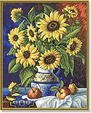 Schipper - 609130308 - Still Life with Sunflowers - Tableau à Dessin - Taille 40 x 50 cm