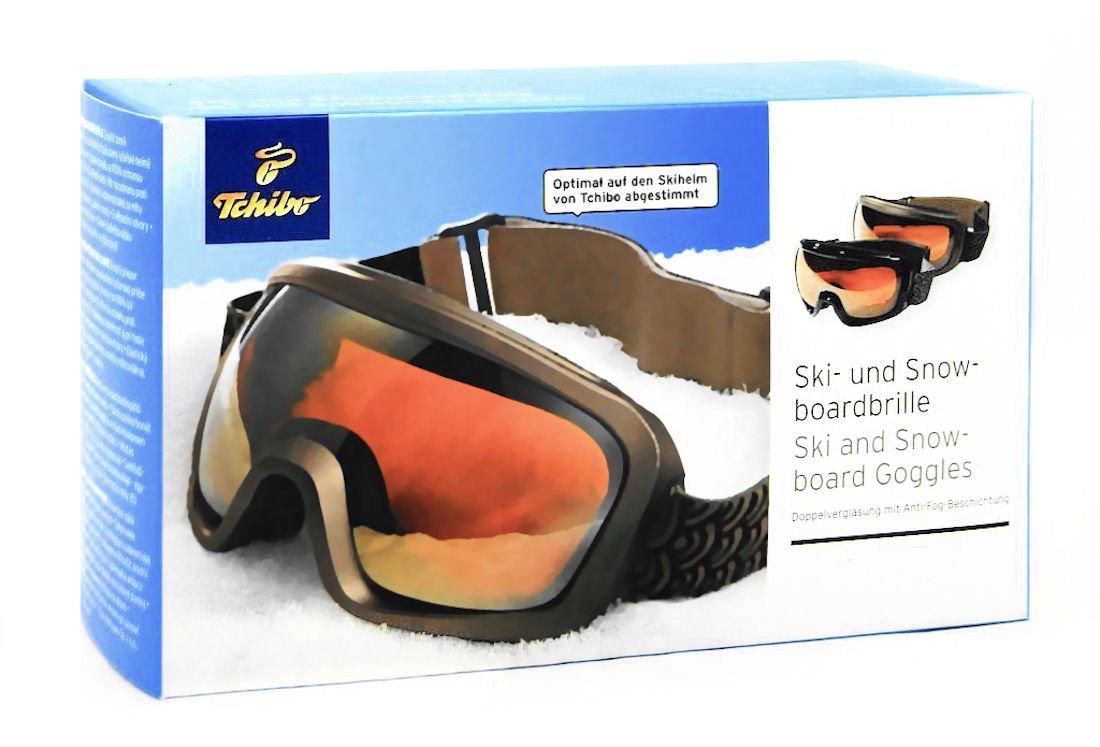 arrives designer fashion united states TCM Tchibo Ski-und Snowboardbrille, Anti-Fog-Beschichtung ...