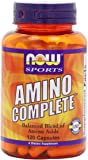 NOW Sports Amino Complete,120 Capsules