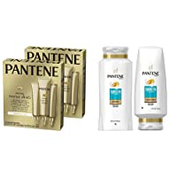 Deals on 3-Ct Pantene Rescue Shots Hair Treatment 2-Pk w/Conditioner Kit