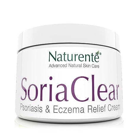 Naturenté Soria Crema hidratante natural para problemas de la piel seca, alivio rápido 21 ingredientes