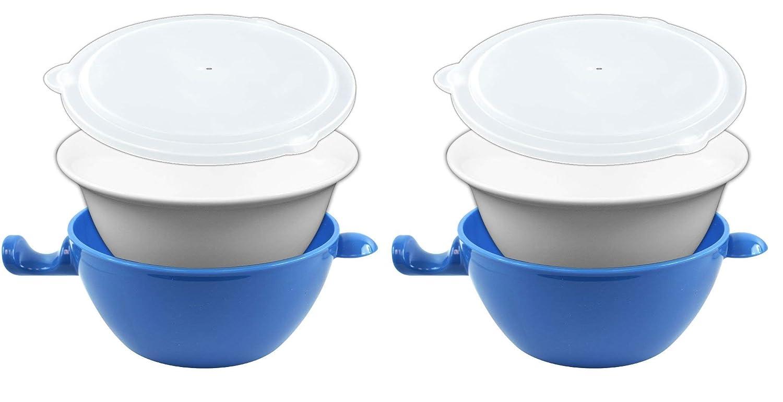 Amazon.com: Handy Gourmet Cool Touch cuenco para microondas ...