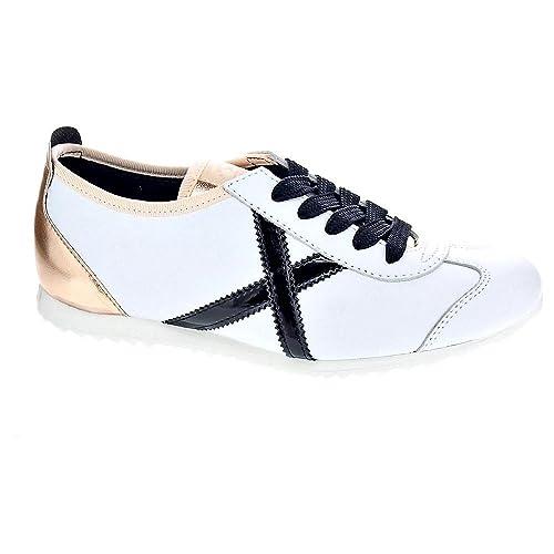 Munich Osaka 350 - Zapatillas Bajas Mujer Blanco Talla 41: Amazon.es: Zapatos y complementos