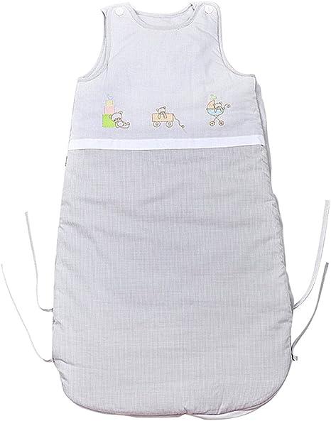 Saco de Dormir 2.5 Tog Sin Mangas - Bebé Sacos para dormir 0-12 Meses: Amazon.es: Bebé
