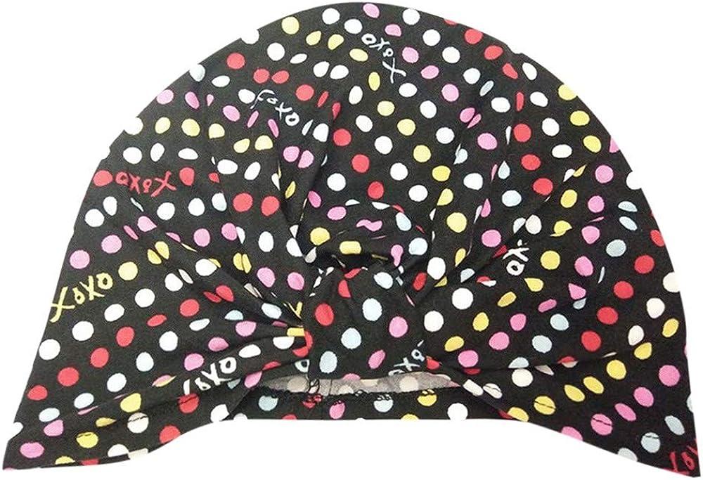 Vinjeely Cute Floral Solid Warm Headwear Hat 0-18 Month Baby Gilrs Boys Beanie Cap
