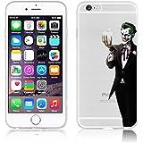 Coque de protection en TPU souple pour Apple iPhone 6/6S/6+/6+S Motif Marvel Avengers Transparent, plastique, JOKER2, APPLE IPHONE 6/6S