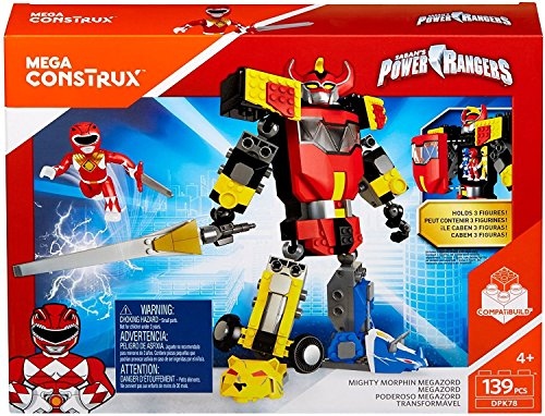 Review Mega Construx Mighty Morphin