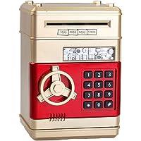Spaarpot Electronic Password ATM Piggy Bank Automatische Money Boy And Girl Gift van de Verjaardag Spaarpotten voor…