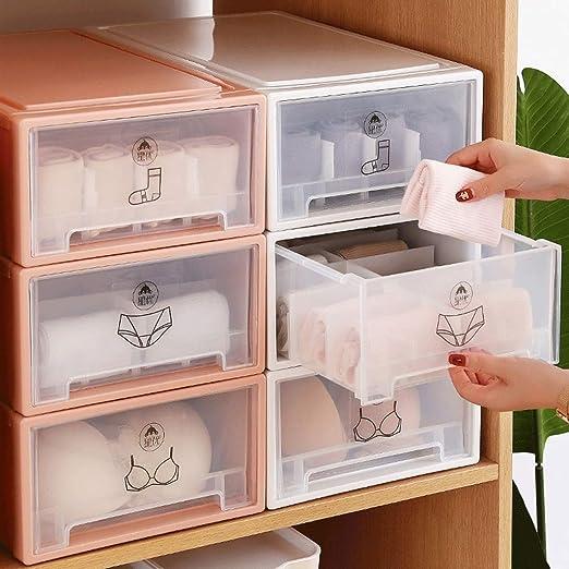 Amazon.com: TXXM - Caja de almacenamiento para ropa interior ...
