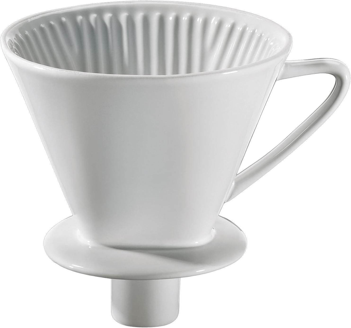 Porzellan Kaffeefilter NEU Größe Nr 1  Farbe weiß Kaffeebereiter Dauerfilter