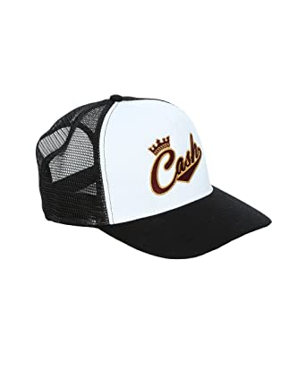 Johnny Cash Men s Crown Logo Trucker Cap  Amazon.co.uk  Clothing f57e7fdc178