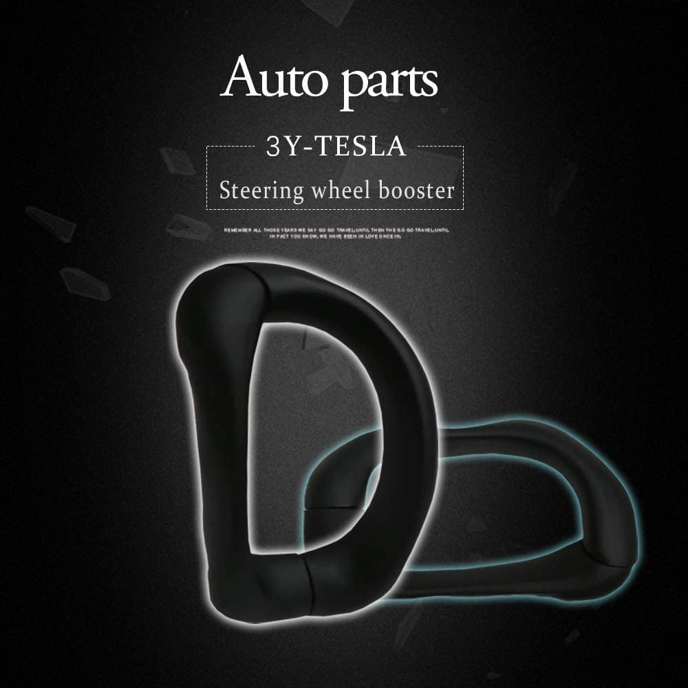 S//X JFMY Upgraded Steering Wheel Booster for Tesla Autopilot FSD Auto Assisted Driving AP Aid Control Handle Car Vehicle Steering Wheel Auxiliary Booster