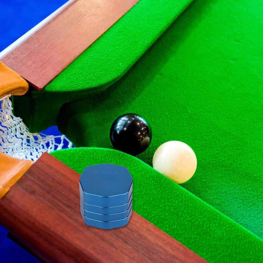 Alomejor Billiard Chalk Holder Magnetico Porta Gesso da Stecca da Biliardo Custodia Protettiva di Gesso per Giocatori di Biliardo Snooker