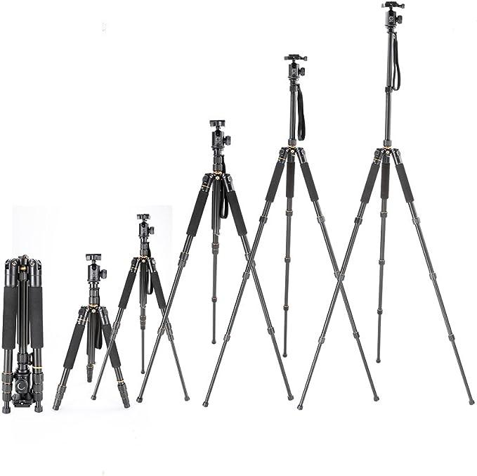 QZSD-999S - Trípode portátil para cámara réflex Digital (Incluye ...