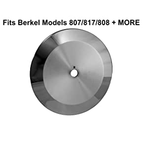 Food Service Knives Berkel Replacement Blade Meat/Deli Slicer Fits Models 807/817/808/818/909/909-1/909C/ 909CI/909ES/909FA/919FS/919/2340/ 2350/ Made in Italy Sharp