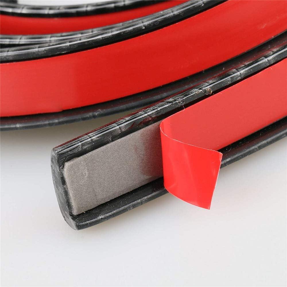 DIYARTS Car Wheel Fender Universal Auto Arch Guard Flexible Extension Wheel Eyebrow Trim Rubber Protector Black 55mm