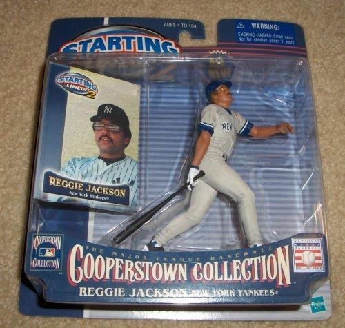 Reggie Jackson Cooperstown Starting Lineup Figure