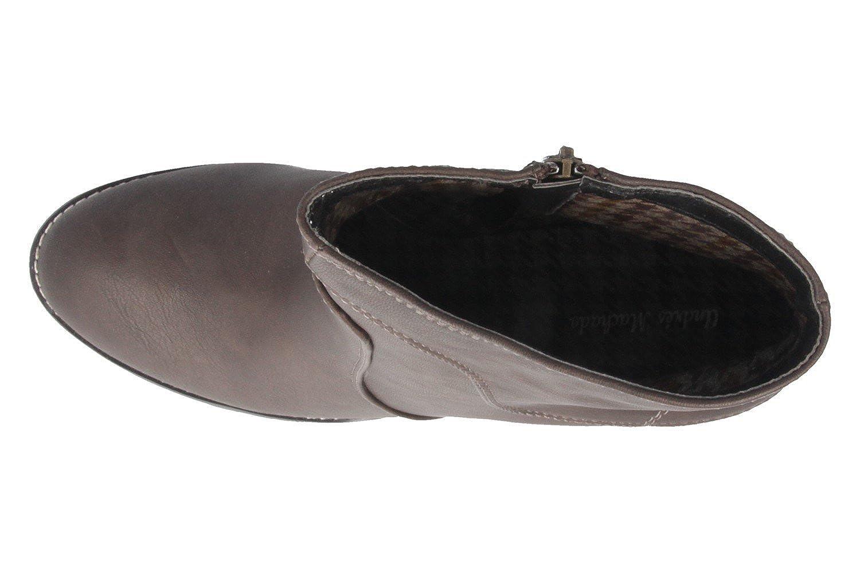 Andres Machado Stiefeletten in Übergrößen Übergrößen Übergrößen Braun AM4024 Soft braun große Damenschuhe d3b210