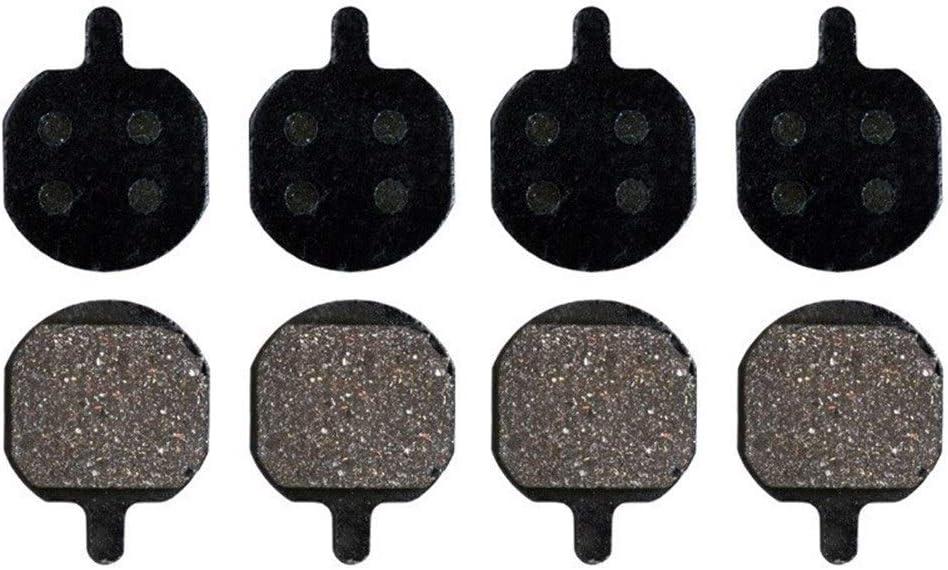 Chooee Pastillas de Freno de Disco de Resina y semimet/álicas para Hayes Sole MX2 MX3 MX4 GXC GX2