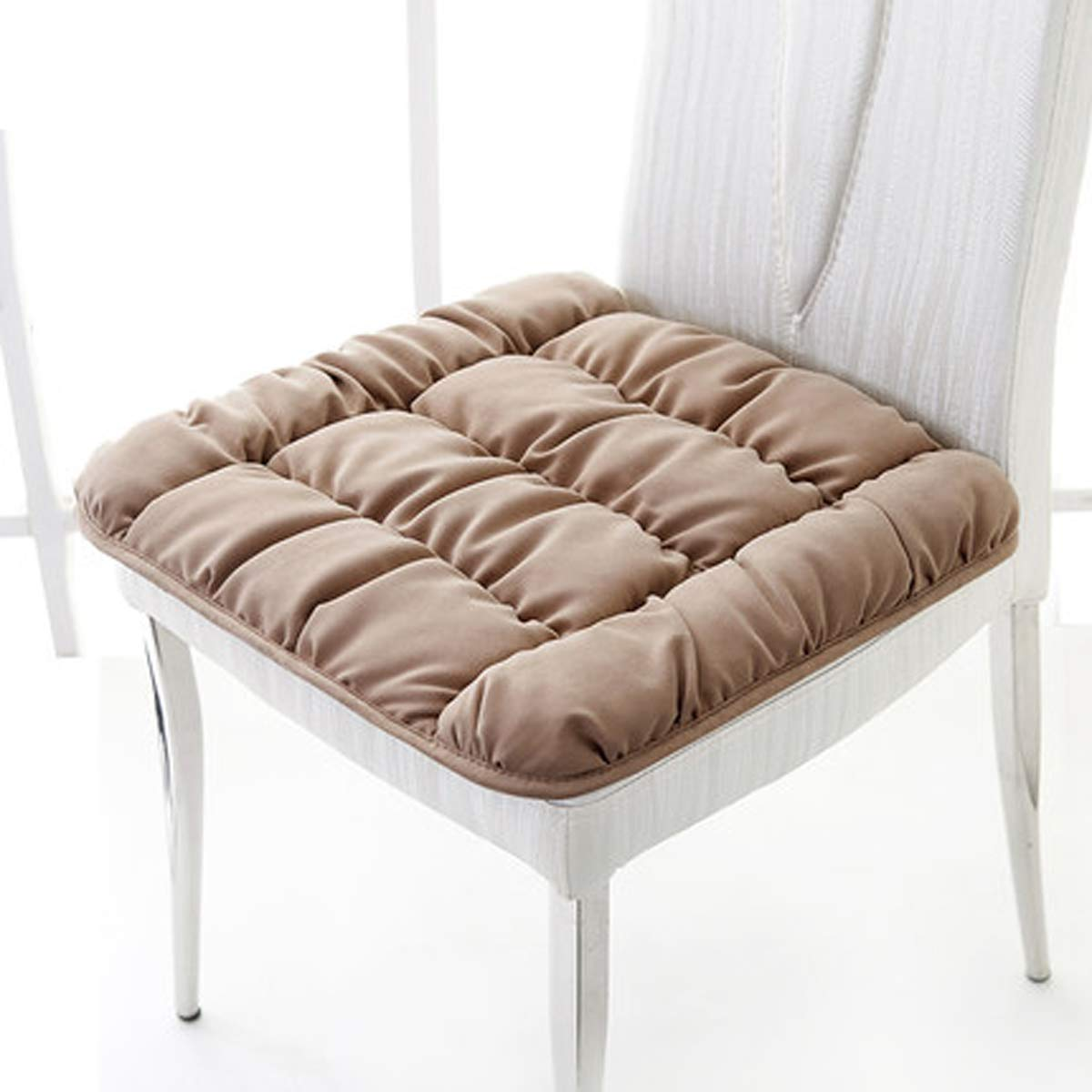 Q&F Cojines para sillas de Cocina Cuadrado Antideslizante ...
