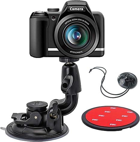 woleyi Soporte de Ventosa para cámara DSLR, diseño de Doble ...