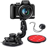 DSLR Scution Cup Mount,Double-Protection-Design with 3M Sticky Pad for Nikon Canon Sony Pentax Olympus KamKorda…