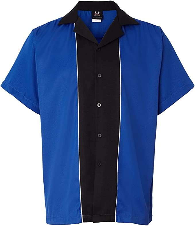 Hilton HP2246 - Camiseta de bolos - Azul - Large: Amazon.es: Ropa y accesorios