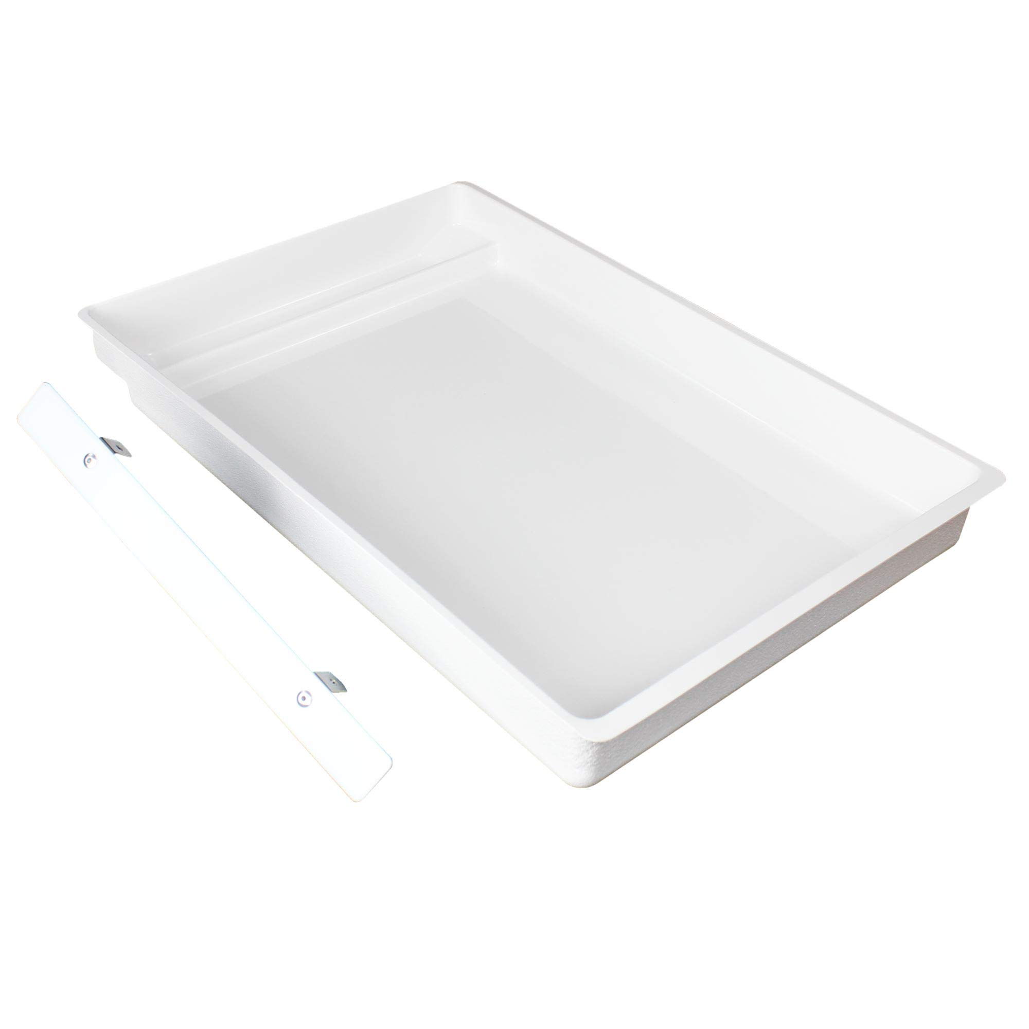 LitterWorks Permanent Scoopfree Compatible Litter Tray. Heavy Duty, Seamless Plastic Design Replaces Disposable Tray Refills, Pays for Itself in a Few Months.