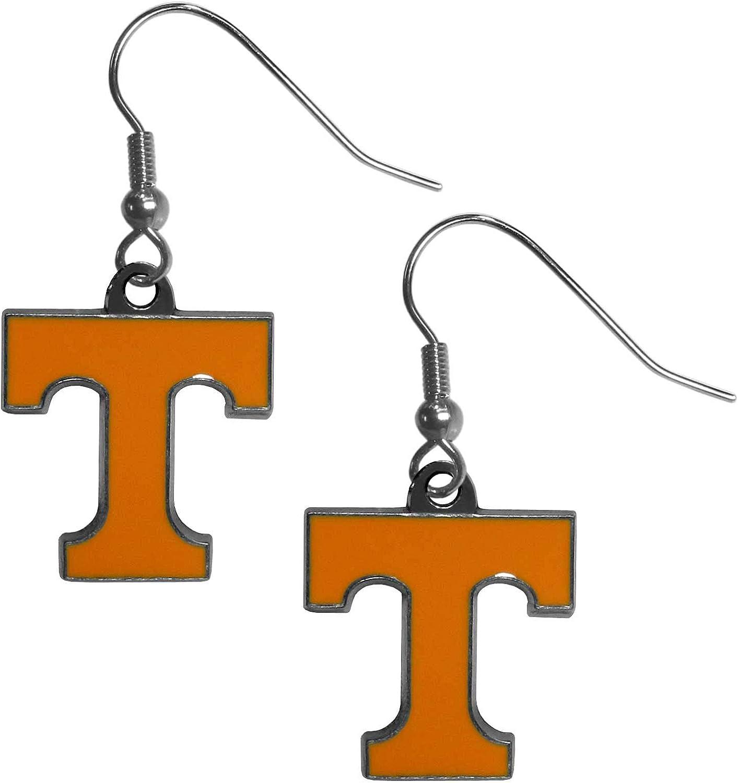 Orange Siskiyou NCAA Tennessee Volunteers Fan Bead Dangle Earrings